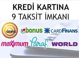 Kredi Kartlarına 9 Taksit Ödeme İmkanı