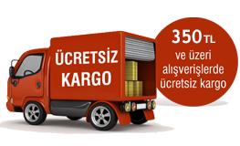 350 TL ve üzeri siparişlerinizde Kargo Bedava