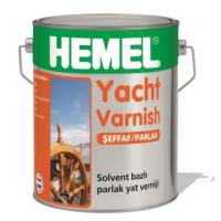 HEMEL® Yacht Varnish Parlak Yat Vernik 0,75 lt