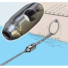 Zincir ve halatı birleştirme konnektörü
