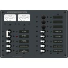 AC 13 pozisyonlu sigorta paneli (3 pozisyon boş)