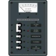 AC ana+3 pozisyonlu sigorta paneli
