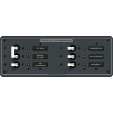 AC Ana + 4 pozisyonlu sigorta paneli