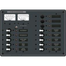 DC 13 pozisyonlu sigorta paneli (3 pozisyon boş)