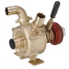 Motor V kayışı tahrikli, debriyajlı bronz su pompaları.