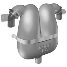 Jeneratör egzoz gaz/su ayırıcısı