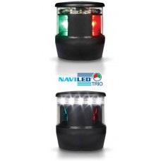 Hella Marine NaviLED üç renkli, demir fenerli seyir feneri