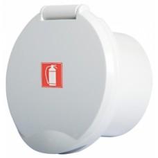 Beyaz ABS pakalı kutu
