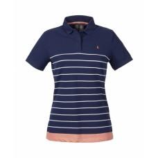 Musto Biarritz Stripe Polo Tişört Bayan