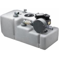 Vetus pis su tankı sistemi