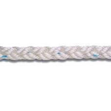 8 kollu, örgülü polyester halat