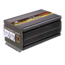 Invertor. 12V veya 24V DC voltajı güvenle 230V AC´ye çevirir.