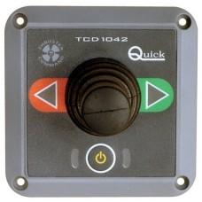 Quick baş pervanesi kontrol paneli. Joy-Stick'li.