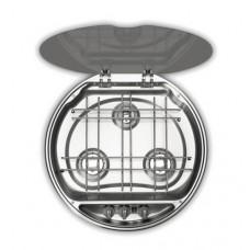 Smev 7223 serisi üç gözlü, gazlı gömme ocak