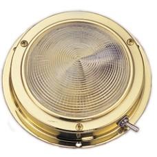 Tavan lambası, paslanmaz çelik ø 171mm, 12v/15w.